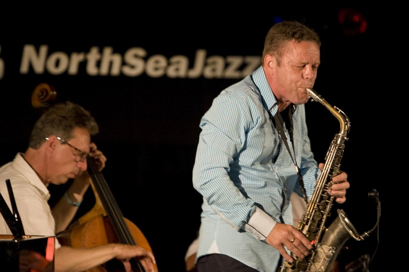 altoist Paul Van Kemenade at the North Sea Jazz 2011.jpg
