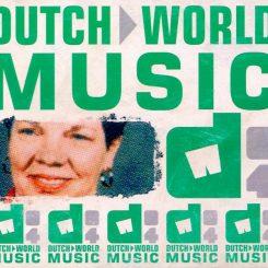 Dutch World Music (compilation cd)