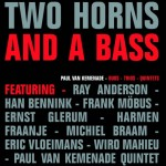 Two horns and a bass