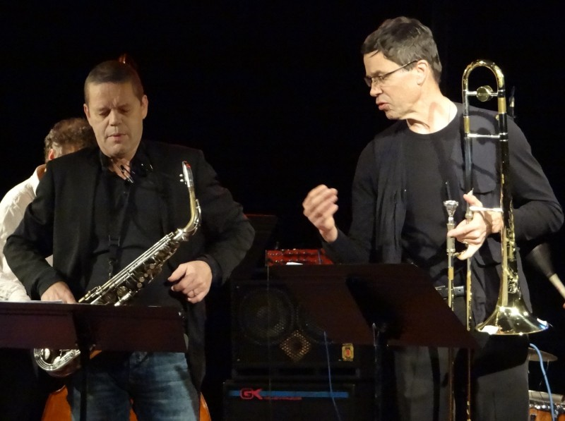 Paul van Kemenade & Ray Anderson