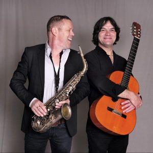 Paul van Kemenade en Maurice Leenaars Foto Gemma van der Heyden JazzNu.com